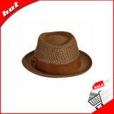 Chapéu de palha do papel da mistura de cor
