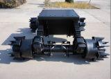 正方形のくもの管のハブが付いている14tスポークのドイツのタイプ車軸