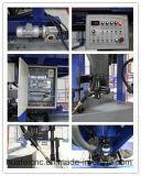 トラックタンクトレーラーのビーム溶接機