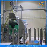 Ce Cattle Halal Slaughterhouse con Slaughter Machine