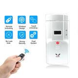 Wafuの無線遠隔ロック、機密保護の盗難防止ロック、見えないロック、スマートな遠隔ロック、見えない遠隔ロック、4つの遠隔キーのキーレスドアロック