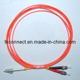 precio de fábrica LC/St Mm Cable de fibra óptica dúplex