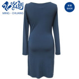 Втулка женщин длинняя приспосабливать платье Slip-on партии способа сексуальное