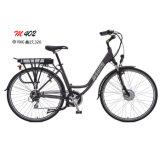 Motor sin cepillo de señora E-Bicicleta Electric Scooter Bikes 350W de la E-Bici del Hembra-Estilo de la vendimia de poco ruido
