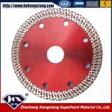 X Turbo Diamond Saw Blade pour carreaux de céramique
