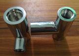 Peças de alumínio de bronze fazendo à máquina do CNC do aço inoxidável da precisão feita sob encomenda