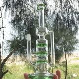 Entwurfs-Huka-Glas-rauchende Wasser-Rohre der Durchdringung-Moonglade (ES-GB-291)