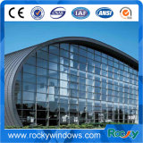Härte-verbessertes und entgratenes Aluminiumprofil für Glaszwischenwände