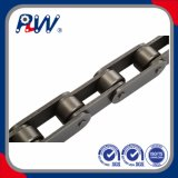 Doppia catena del rullo del trasportatore del passo (grande tipo del rullo)