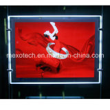 Window posting Ultra Thin Crystal LED Light box with Carved logo