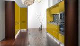 O lustro elevado do revestimento cinzento da laca da cor Anti-Risca o gabinete de cozinha (zz-052)
