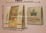 Eco Imprimir barato reciclar Brown Kraft pan envasado bolsas de papel