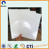 Bekanntmachen Drucken-materielles Plastik-Belüftung-Blatt-des glatten Weiß Belüftung-Blattes