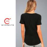 Xh Vestuário fornecem qualidade de Mulheres camisola T