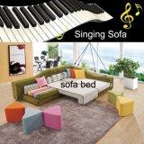 Sofà variopinto del tessuto con la funzione della base di sofà ed il sistema 821 di musica