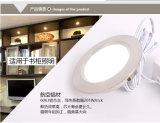 lámpara del techo de 12V 3.5W LED con el orificio cortado del radiador y del programa piloto del aluminio de 56m m