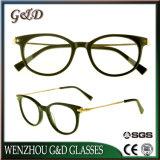 Design de moda de acetato de grossista isopropanol óculos vidros ópticos Frame