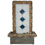 De Fontein van de Steen van het tafelblad met de Afzet van het Koper
