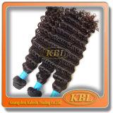 Cabelo Curly Kinky Mongolian brasileiro do comprimento diferente