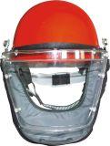 De volledige Helm van de Mening van het Gezicht Grote met het Aangedreven Systeem van de Levering van de Lucht