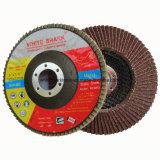 Disco estándar de la solapa del óxido de aluminio para el metal y la madera