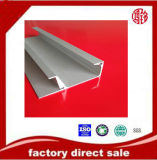 Extrusão de alumínio perfil 6063 T5 emaranhado anodizado para a mobília da cozinha