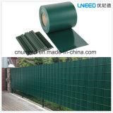 100%UV 저항 Ral6005 630g 19cm*35m PVC 지구 스크린 정원 담