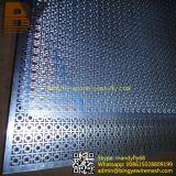 Hoja perforada galvanizada/inoxidable del acero/de aluminio de metal