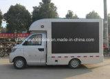 4X2 de la pequeña pantalla LED de la publicidad móvil vehículo