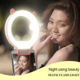 Selfie Stick LED Lanterna Circle Ring Light para Selfie