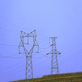 110 кв линейная оцинкованных передача мощности угол стальной башни