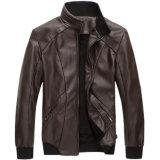 Männer PU-Umhüllung im gute Qualitätsform-Mantel