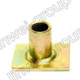 Socket de elevación del socket de la placa plana en los accesorios del concreto de prefabricación (Rd16X35)