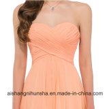 Случай длиннего без бретелек lhbim специальный одевает шифоновое платье выпускного вечера