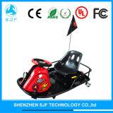 Gehen heißer Verkauf 2017 8 Zoll-Schwarz-Rotes elektrisches Karting