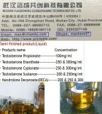 Boldenone Undecylenate/200 Mg/Ml equivalentes petróleo semiacabado com boa vinda do pedido da amostra