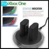 Перезаряжаемые двойная имитационная стыковка аккумуляторной зарядной станции 2800mAh с набором кабеля USB Recharger для регулятора Gamepad xBox одного беспроволочного