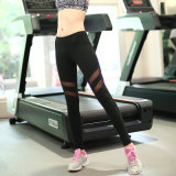 280GSM сетчатый вкладыш 85% нейлон 15% полиэстер спортивная одежда Leggings черного цвета