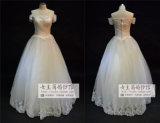 2015 Tulle Sweetheart Plus Size avec dentelle robe de mariage decoration (JL1020)