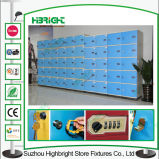 Banco Locker ABS Plastic Storage Locker per lo spogliatoio