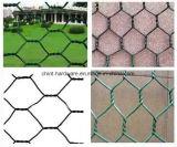 """3/8 '' - 4 """" ячеистая сеть PVC дюйма Coated шестиугольные/плетений"""