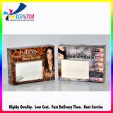 2018 bonita caja de papel con ventana PVC transparente