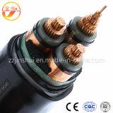 O melhor cabo distribuidor de corrente Hv/Mv/LV do controle XLPE da qualidade