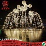 LED 3D de la fontaine de vacances de Noël Décoration lumière Motif