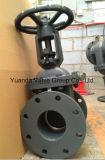 ANSI 125lb/150lb Cast Iron Non-Ring Stem API Gate Valve Flange