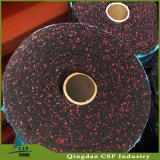 Настила Rolls гимнастики Китая Csp циновки резиновый резиновый для пригодности Crossfit