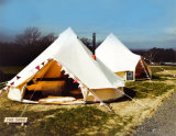 шатер колокола гостиницы шатра колокола холстины 4-6m напольный сь