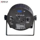中国の安い段階LEDの同価64 9LEDs 3Wは*10W RGB 3in1 DMX制御LED同価つくことができる