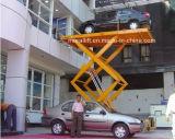 Stationaire hydraulische verticale de schaarlift van de zware ladingscapaciteit