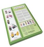 Rectángulo de papel del plegamiento de papel del diseño de la manera de la alta calidad (YY-B1006)